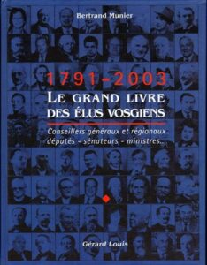 Le Grand livre des Élus Vosgiens : 1791-2003